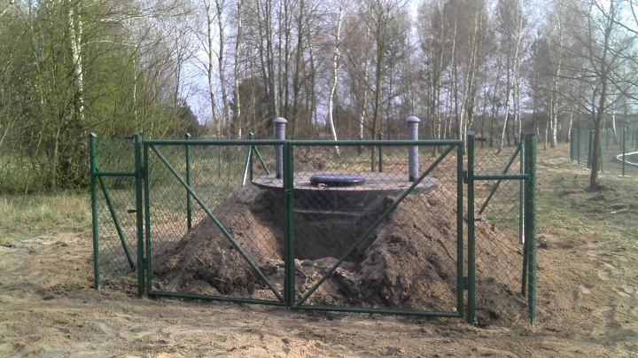 sieć wodociągowa Bobrowice